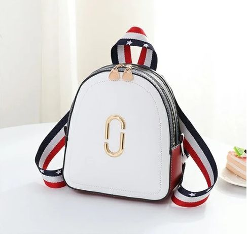 Стильный женский мини рюкзак повседневный яркий маленький рюкзачок