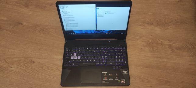 Игровой ноутбук ASUS TUF ryzen 5 3550h ,gtx 1650 4gb, 8gb ram, ssd 256