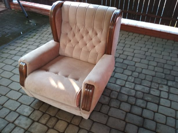 Piękny Fotel Vintage klubowy