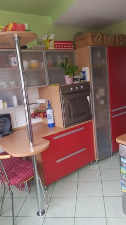 Meble kuchenne lodówka,zmywarka,płyta,okap i piekarnik
