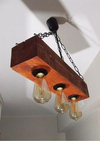 Żyrandol Vintage Loft Industrial Diy Handmade