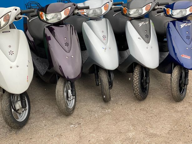 Японские скутеры Honda Dio 62/68. Идеальное состояние. Выбор