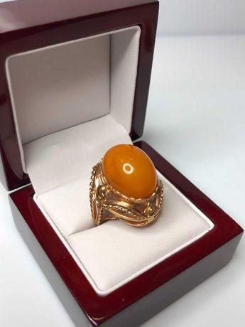 masywny złoty pierścionek 14ct 11,61G promocja