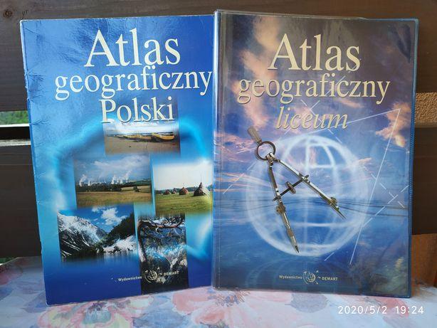 Atlas geograficzny Polski / Liceum