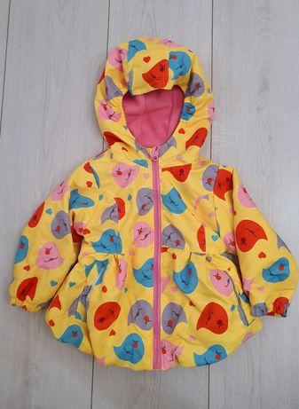 Курточка-ветровка на флисе Aimico  80 р-р