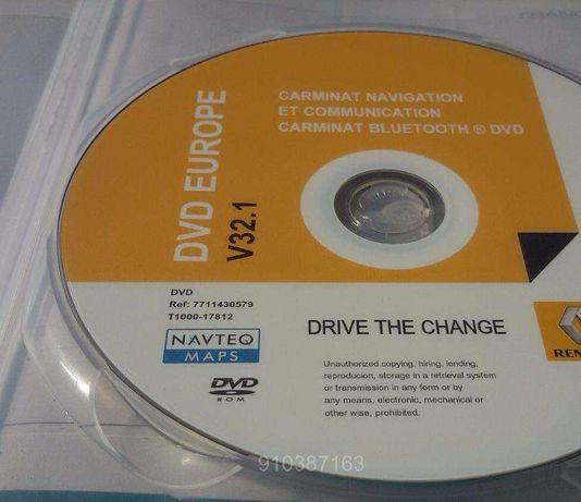 Renault GPS DVD Europa V.32.1 Megane Laguna