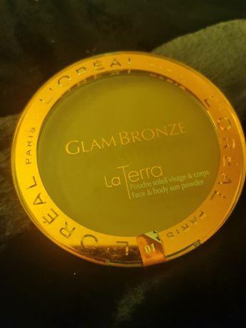 Vende-se pó de rosto/corpo Glam Bronze La Terra L'Oréal, novo