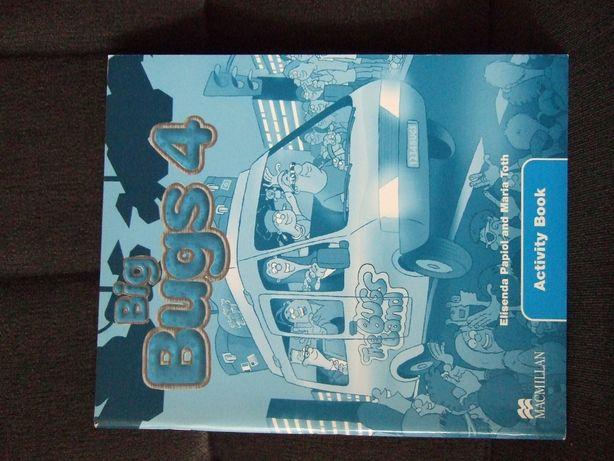 """Ćwiczenia do j.angielskiego - """"Big Bugs 4"""" wydawnictwa Macmillan"""