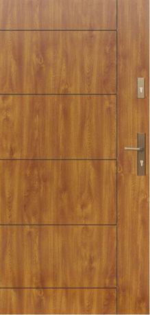 Drzwi zewnętrzne stalowe WIKĘD, 80, wzór 26D, Optimum Termo, Winche