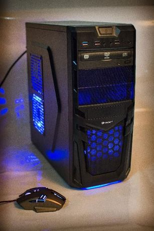 NOWY Komputer RYCERZ i5 10 gen 4.3 GHz 8GB SSD Geforce GTX1050Ti 4GB