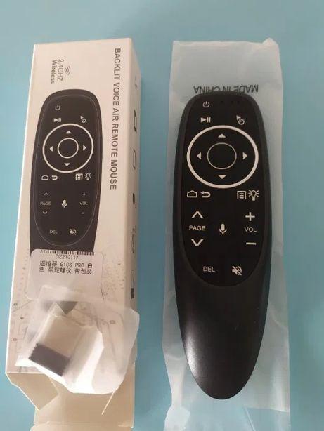 Pilot G10s pro podświetlany Mikrofon Air Mouse Tv Box Magic Remote