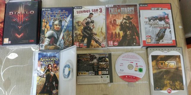 Gry Mix PC PS3 PSP