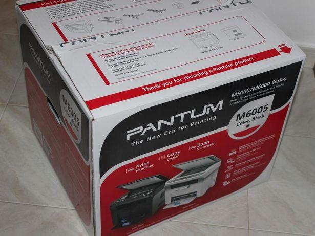 "Impressora Scanner Fotocopiadora ""Mulfifunções"" a Laser NOVA"