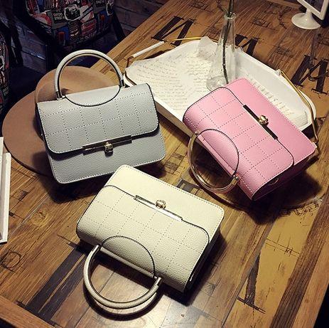 Качественная женская мини сумочка клатч кожзам модная мини сумка