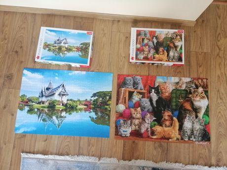 Пазли 1000шт puzzle складені, готові картина з пазлів