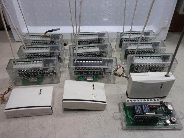 Lote de 11 Receptores de UHF ,433 MHz para portão