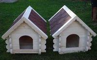 Solidna drewniana buda dla psa, budy dla psa