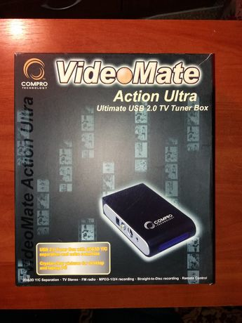 ТВ-тюнер внешний Compro VideoMate Action Ultra