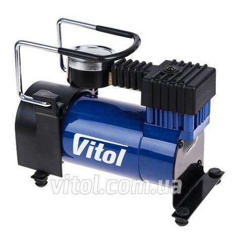 Автомобильный компрессор Vitol K-20 100psi/12Amp/35л/прикуриватель