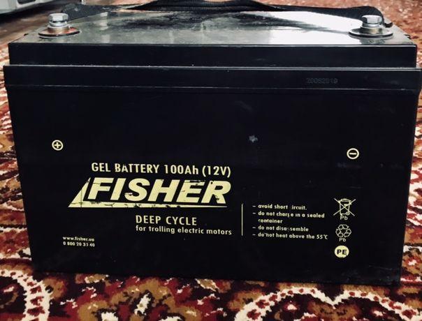 Гелевий акумулятор 100 Ah 12 V Fisher