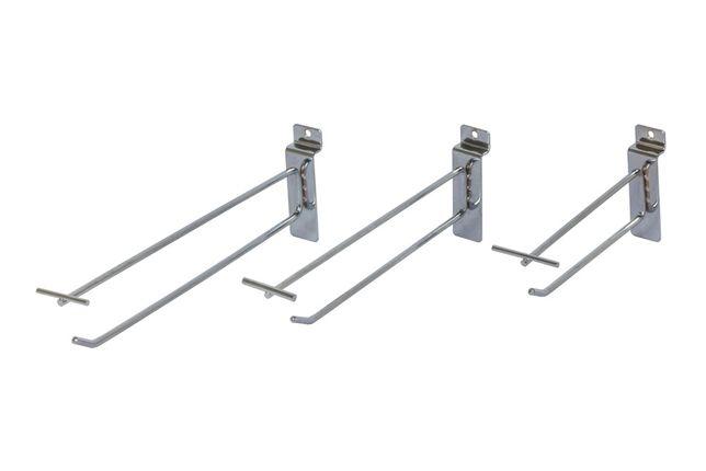 Торговое оборудование - торговые крючки/кронштейны навесные аксессуары