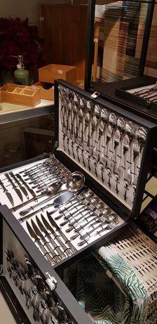 Faqueiro de 48 Peças de Inox Riga By Arcoazul