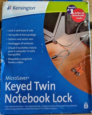 Linka zabezpieczająca laptop Kensington Twin Microsaver, NOWA