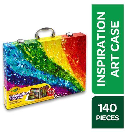 Чемодан Crayola Inspiration Art Case, набор, набір