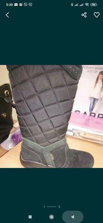 Зимние сапоги для девочки Экко ecco 30 размер, идеальное состояние.