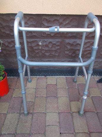 Balkonik chodzik rehabilitacyjny inwalidzki szary siwy