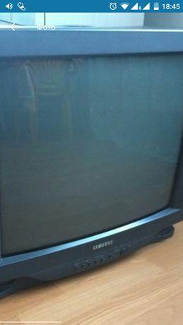 Телевизор Самсунг,На ЗАПЧАСТИ.300₽