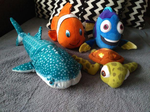 Maskotki Nemo,Dory,żółw,rekin