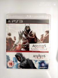 Assassin's creed II i Assassin's Creed ps3 2w1
