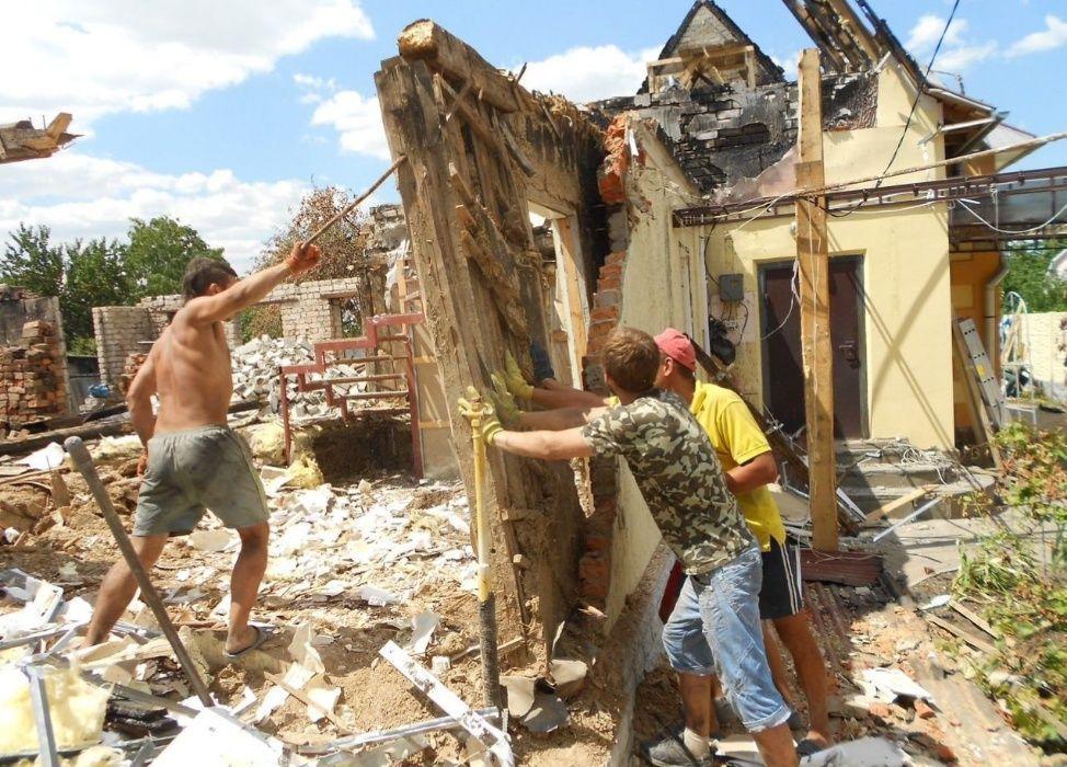 ДЕМОНТАЖ Уборка Территорий Расчистка Участка Спил деревьев Вывоз мусор Киев - изображение 1