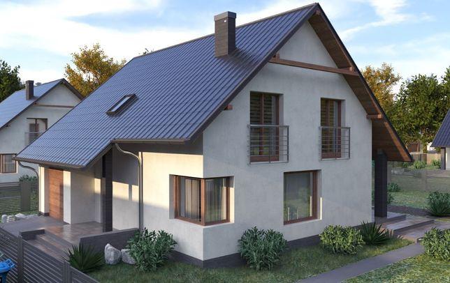 Wolnostojący dom jednorodzinny z garażem i własnym ogrodem