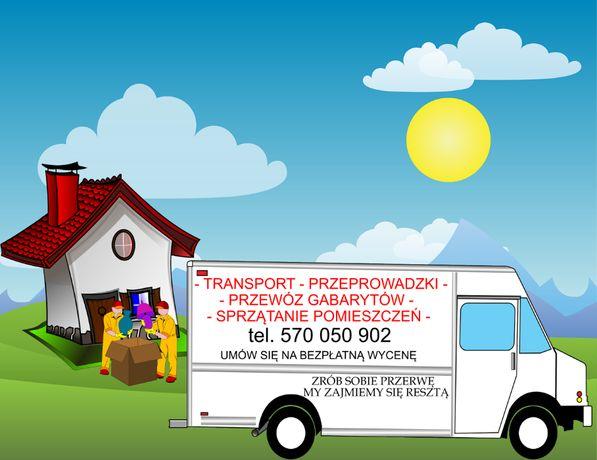 Transport - przeprowadzki - sprzątanie piwnic i strychów