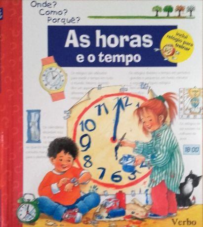 """livro """"As Horas e o tempo"""""""