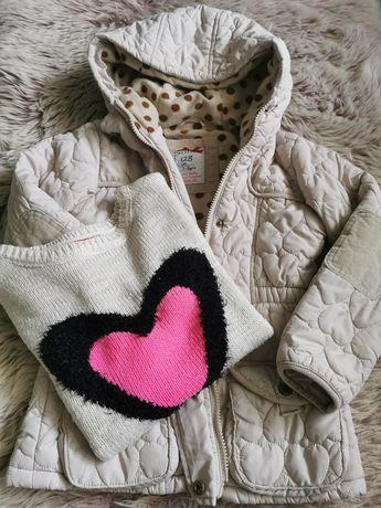 Kurtka i sweter roz. 128