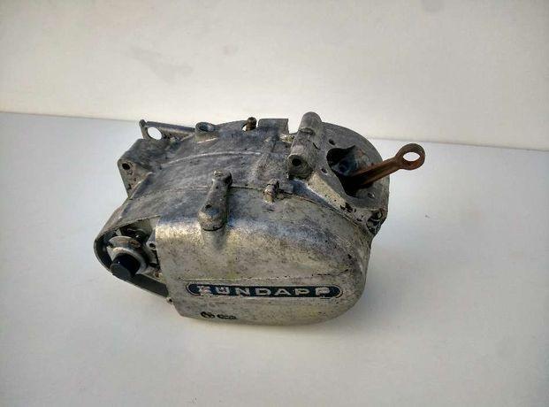 motor zundapp com cambota avariada