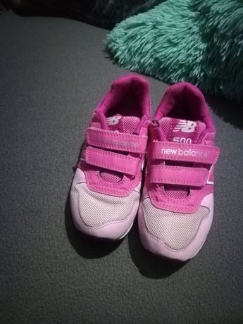 R. 28, 5 New balance adidasy różowe dla dziewczynki