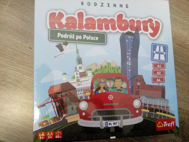 Gra Kalambury podróż po Polsce Trefl NOWA w folii