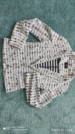 Стильный кружевной пиджак Oodji
