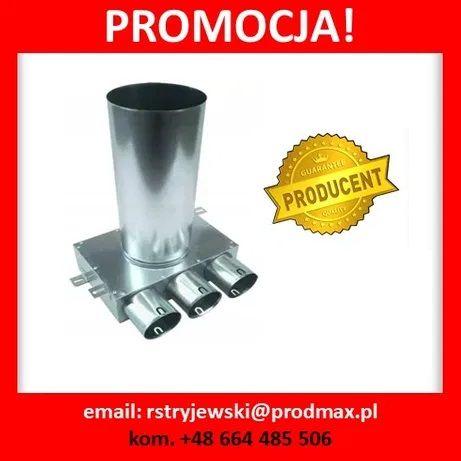 PROMOCJA! SKRZYNKA ROZPRĘŻNA 3x75/125 Wentylacja Rekuperacja Producent