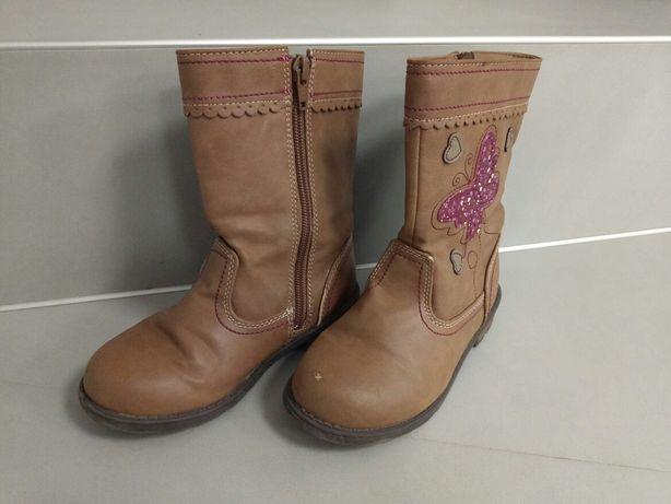 Buty botki korki kozaczki dla dziewczynki r.29
