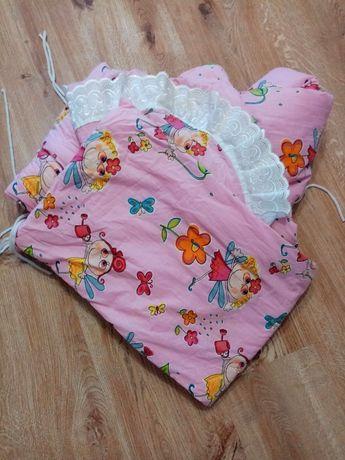 Защита на детскую кроватку бортик люльку