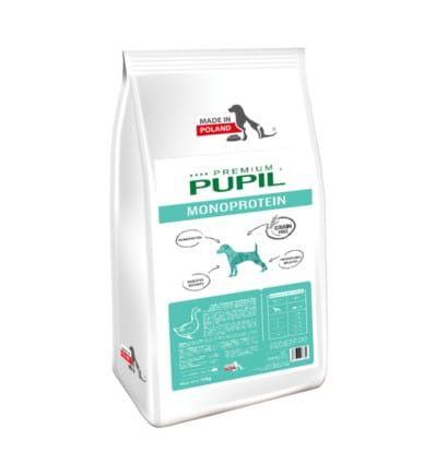 Karma dla psa PUPIL Premium MONOPROTEIN Mini bogata w gęś 10 kg