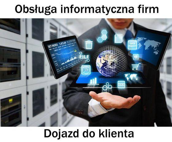 Współpraca biznesowa - obsługa informatyczna firm, dojazd do klienta