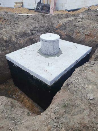 Zbiornik Betonowe na gnojowice 9000l ścieki Szambo deszczówka