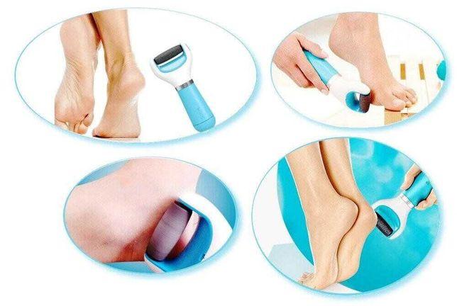Электрическая роликовая пилка для ног и стоп Scholl