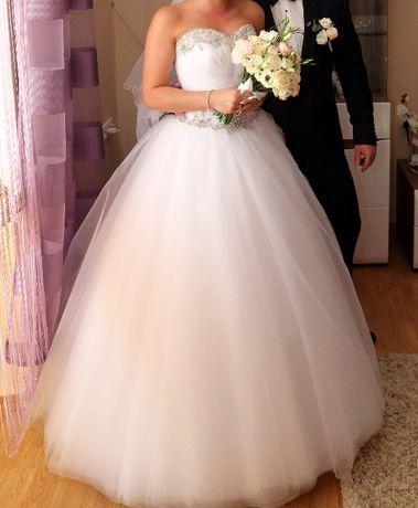 Sprzedam suknię ślubną princessę